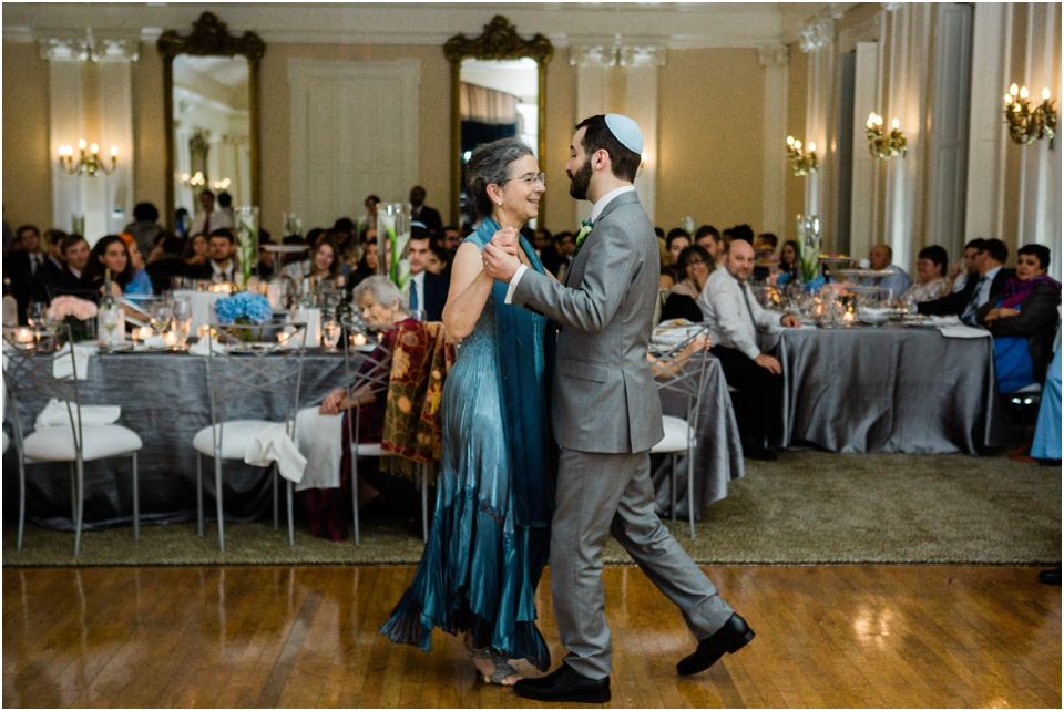 Mother, son dance at the St. Louis women's club
