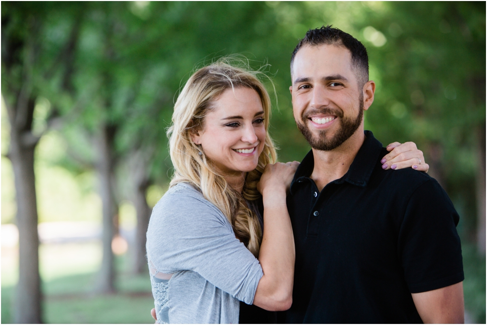 Candid Engagement Photography in Forest Park