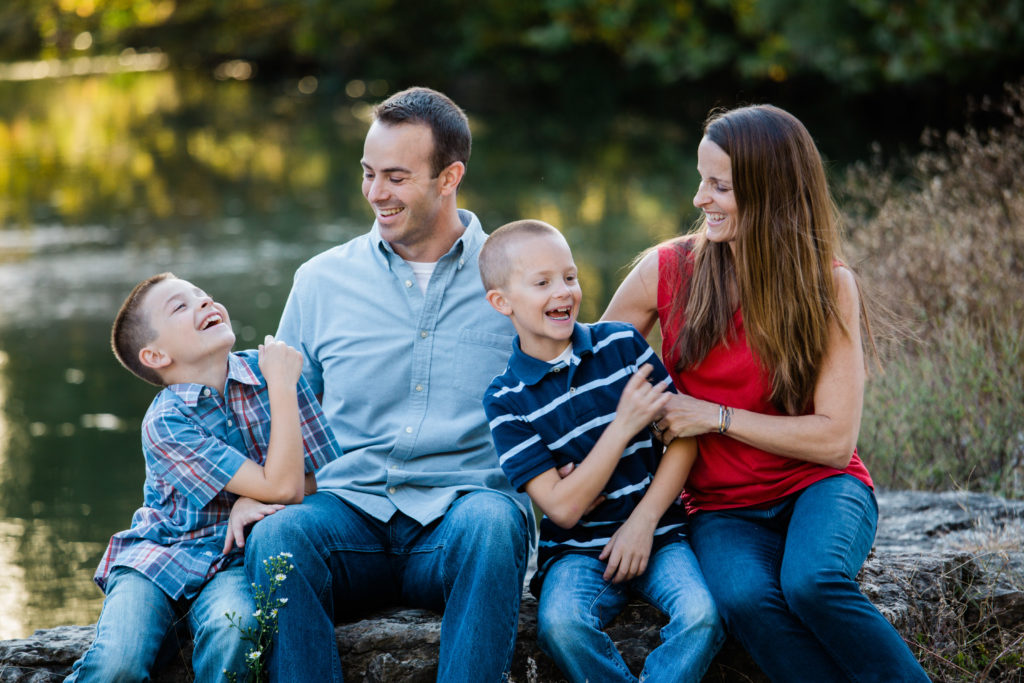 Lifestyle family portraits by best St. Louis Photographer, Beautiful Mess Photography